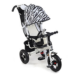 Детский 3-х колесный велосипед Mini Trike Zoo 777. Зебра.
