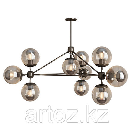 Люстра Modo-10 Chandelier (black), фото 2