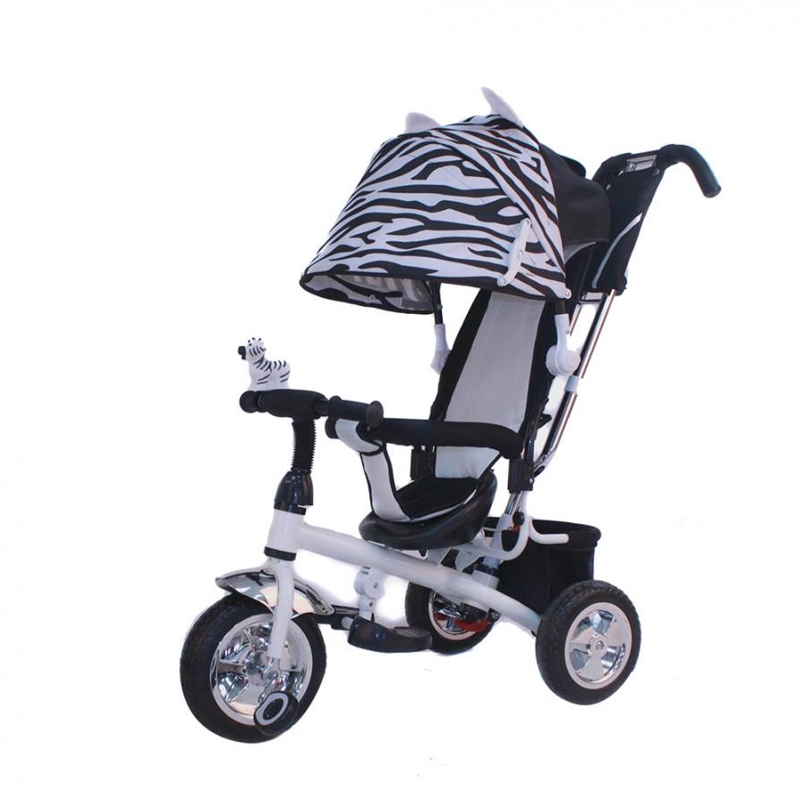 Детский 3-х колесный велосипед Mini Trike Зебра