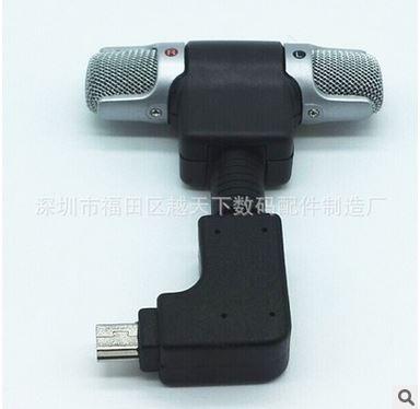 Внешний стерео микрофон. Миниджек с переходником MINI USB на GoPro hero 3/3+/4/4+