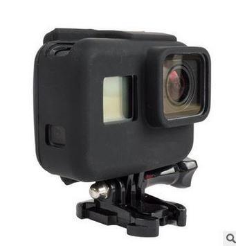 Чехол силиконовый чёрный для GoPro Hero 5.