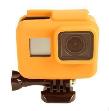 Чехол силиконовый жёлтый для GoPro hero 5