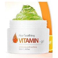 Гель-крем с витамином С и алое The Skin House Aloe Vitamin Soothing Gel,50мл