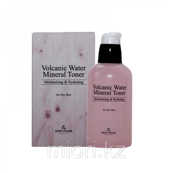 Тонер с вулканической водой The Skin House Volcanic Water Mineral Toner,130мл