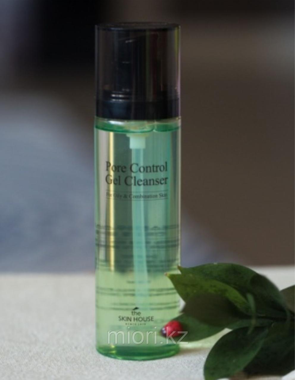 Гель для очищения кожи и сужения пор The Skin House Pore Control Gel Cleanser,150мл