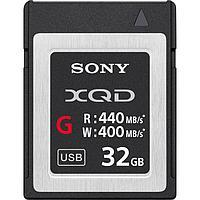 Карта памяти Sony 32GB XQD серии G 440 Mb/s (версия 2)