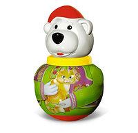 "Неваляшка малая Белый медведь ""Борис"""