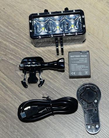 Подводный прожектор для GoPro, фото 2