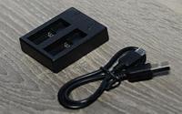 Зарядное устройство GoPro Hero 5 на 2 аккумулятора