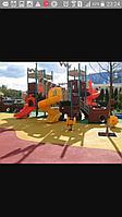 Детские игровые площадки из резиновой крошки