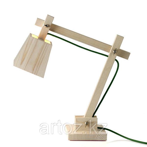Настольная лампа Wood lamp table