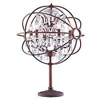 Настольная лампа Foucaults Orb Crystal lamp table