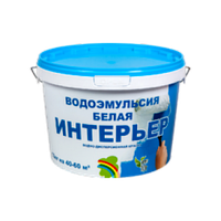 Краска РАДУГА ИНТЕРЬЕР водоэмульсионная белая