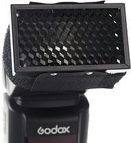 Концентратор света для накамерной вспышки - Соты, фото 2