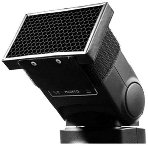 Концентратор света для накамерной вспышки - Соты