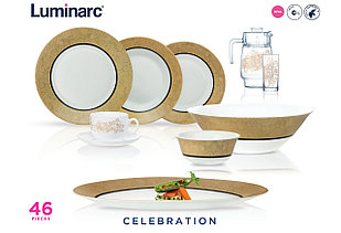 Столовый сервиз Luminarc Essence Celebration 46 предметов