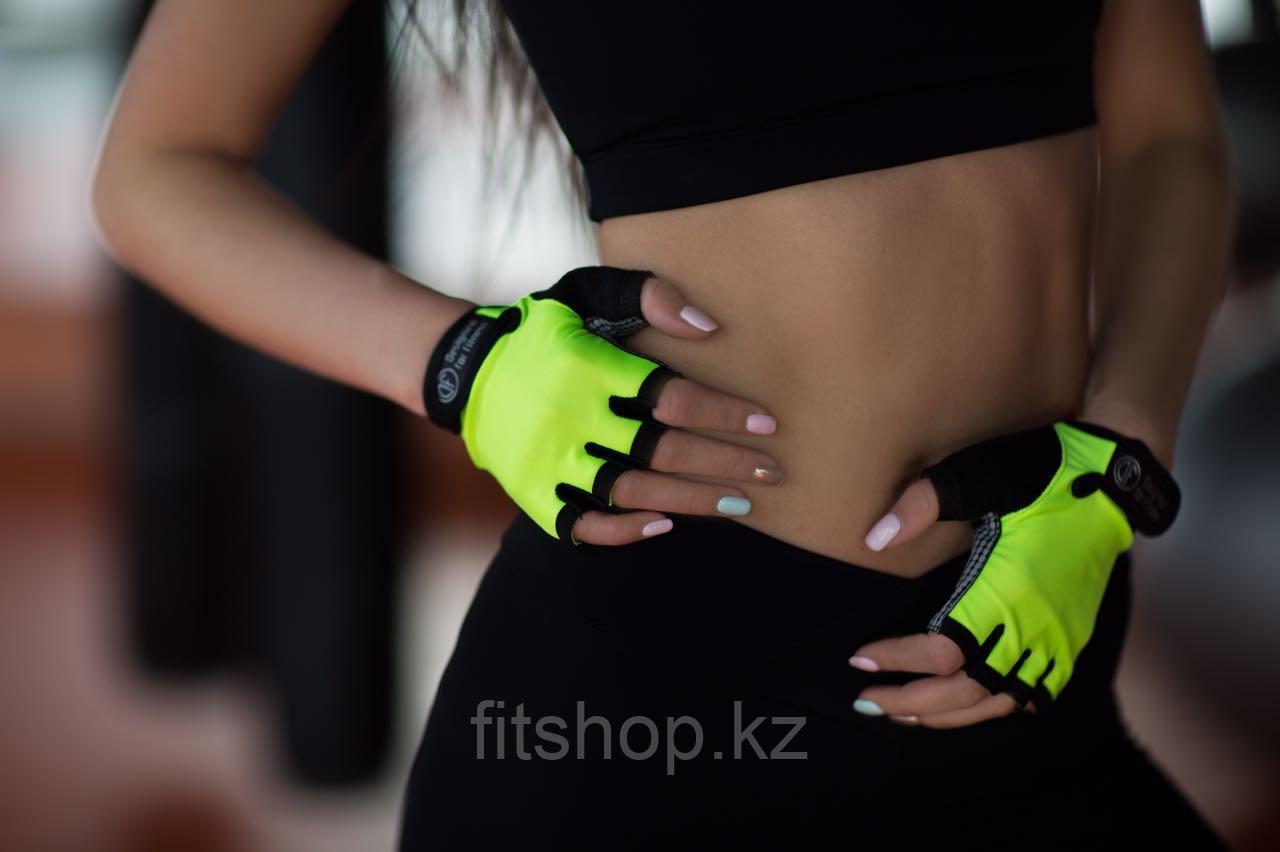 Перчатки -митенки Black n Lemon