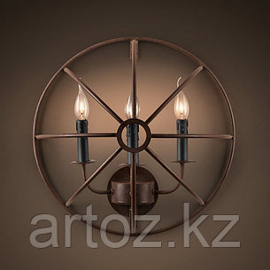 Настенная лампа Foucaults Iron Orb lamp wall, фото 2
