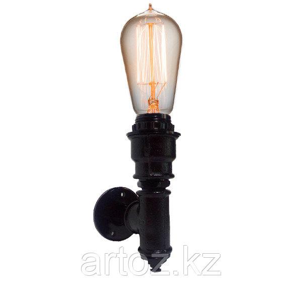 Настенная лампа Industrial Pipe lamp wall-1В (№14-1)