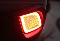Задние LED вставки в бампер на Toyota Highlander 2014-17, фото 1