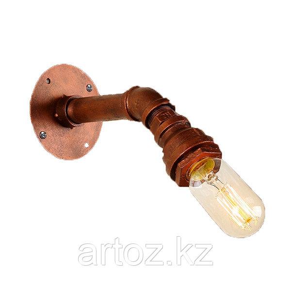 Настенная лампа Industrial Pipe lamp wall-1 L (№16)
