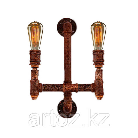Настенная лампа Industrial Pipe lamp wall-2C (№20), фото 2