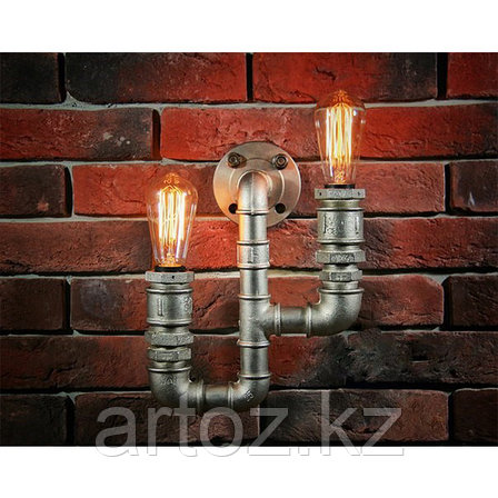 Настенная лампа Industrial Pipe lamp wall-2D (№21), фото 2