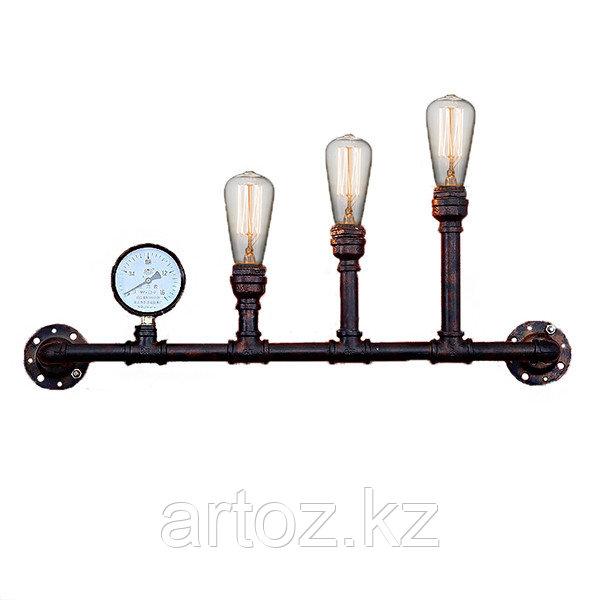 Настенная лампа Industrial Pipe lamp wall-3B (№24)