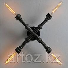 Настенная лампа Industrial Pipe Х- lamp wall M (№30), фото 2