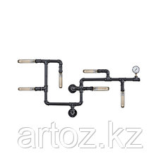 Настенная лампа Industrial steampunk pipe wall-5, фото 2