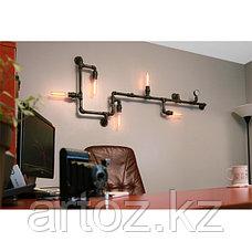 Настенная лампа Industrial steampunk pipe wall-5, фото 3