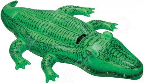 41011 BW Надувная игрушка Крокодил 203х117 см с ручкой
