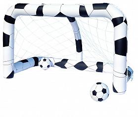52058 BW Футбольный набор (надувные ворота 213х122х137 см + 2 мяча)