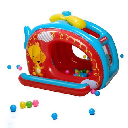 "93502 BW Детский игровой центр ""Вертолет Fisher Price"", 135х99х43см, 25 шариков"