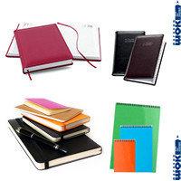 Блокноты, ежедневники, записные книжки, календари