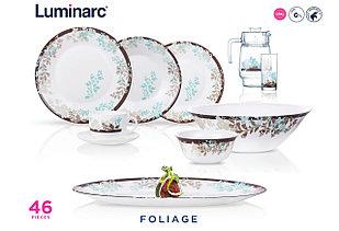 Столовый сервиз Luminarc Essence Foliage 46 предметов