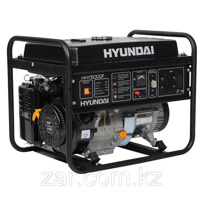Бензиновый генератор Hyundai HHY 5000F 4кВт