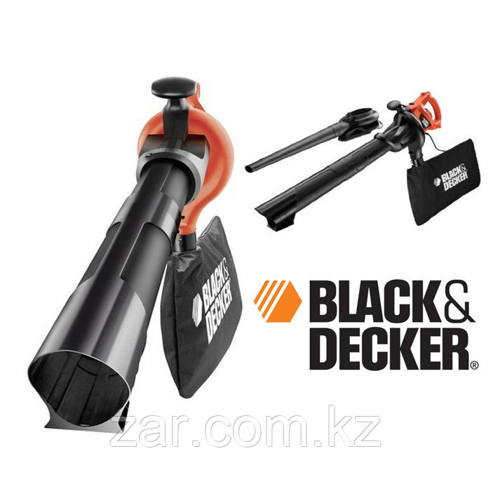Сетевая садовая воздуходувка Black And Decker GW2200