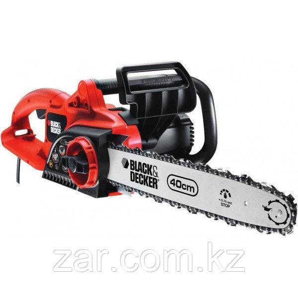 Электрическая цепная пила Black And Decker CS2040