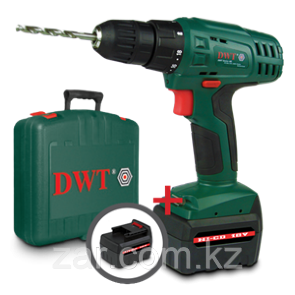 Аккумуляторный шуруповерт DWT ABS 12 TC 2 BMC