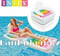 Надувной матрас-кресло INTEX 58847 198* 94 см