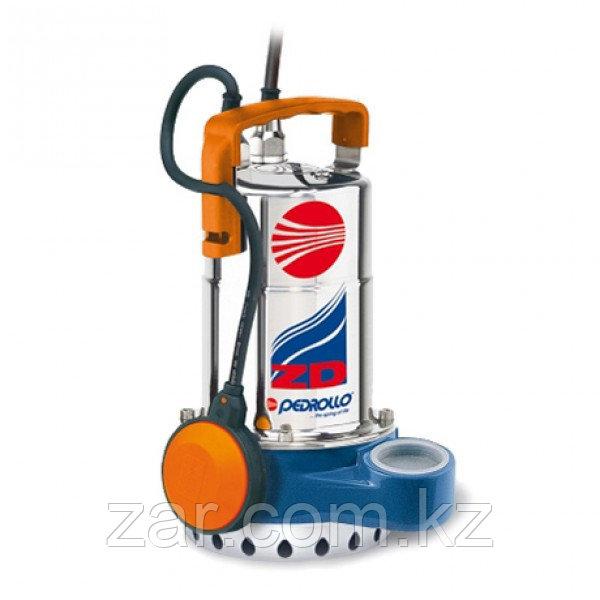 Погружной дренажный насос для сточных вод Pedrollo ZDm 1A-E