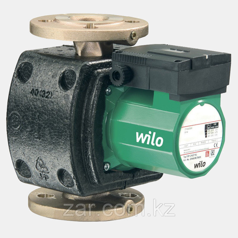 Циркуляционный насос Wilo TOP-Z80/10 DM PN6 бронза