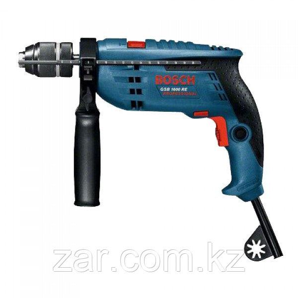 Ударная дрель Bosch GSB 1600 RE 0601218121
