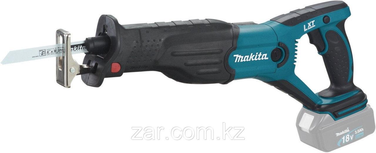 Аккумуляторная сабельная пила Makita DJR181Z