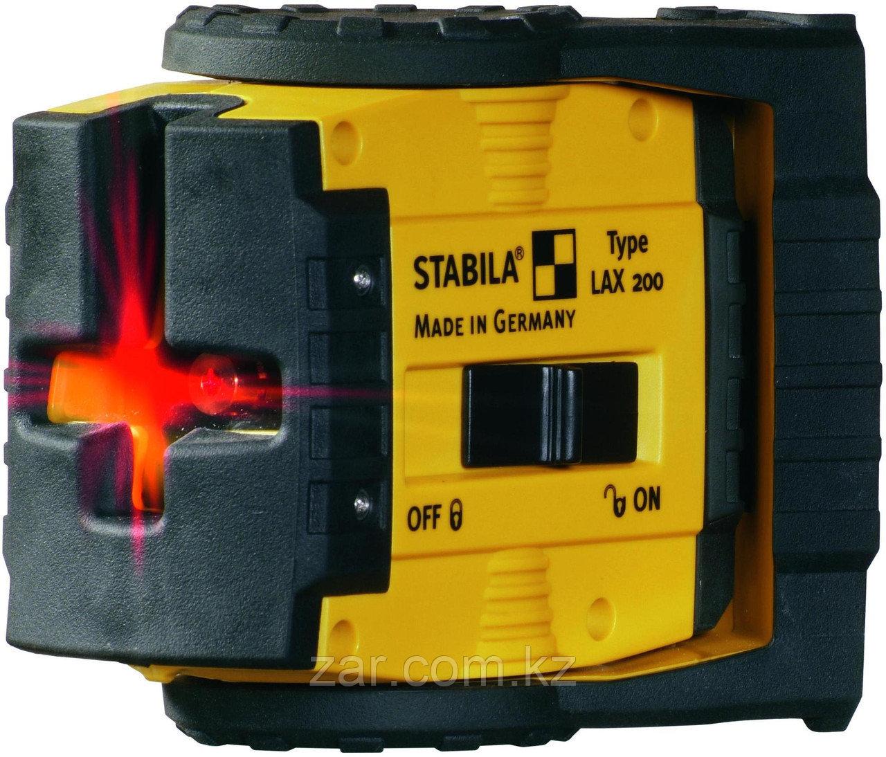 Нивелир лазерный линейный Stabila LAX 200 Set