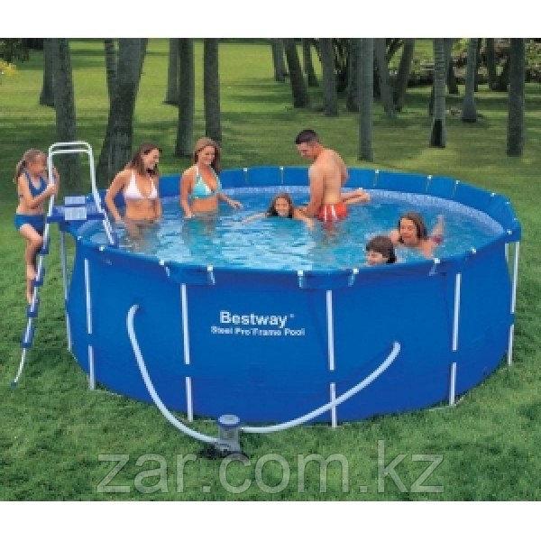 Каркасный бассейн Bestway 56420 (366*122 см)с фильтром и аксессуарами