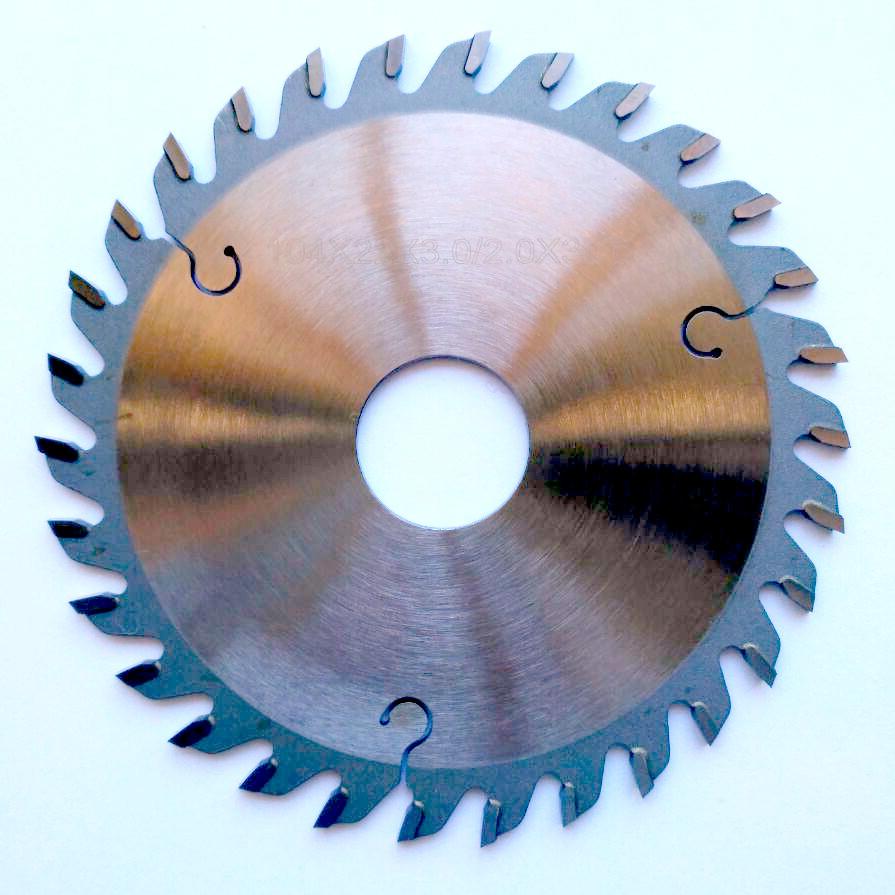 Пила для узла обрезки концов кромки для кромкооблицовочных станков KDT
