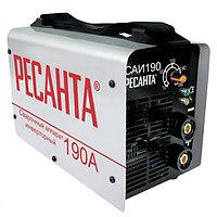 Сварочный аппарат инверторный Ресанта САИ 190, сварочный инвертор