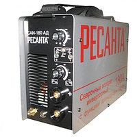 Сварочный аппарат инверторный Ресанта САИ 180АД аргонодуговой, сварочный инвертор